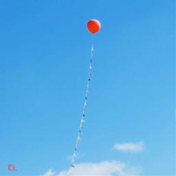 freetoedit bluesky balloon myoriginalphoto canonphotography pctheblueabove