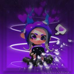 freetoedit splatoon splatoon2 octoling octolinggirl