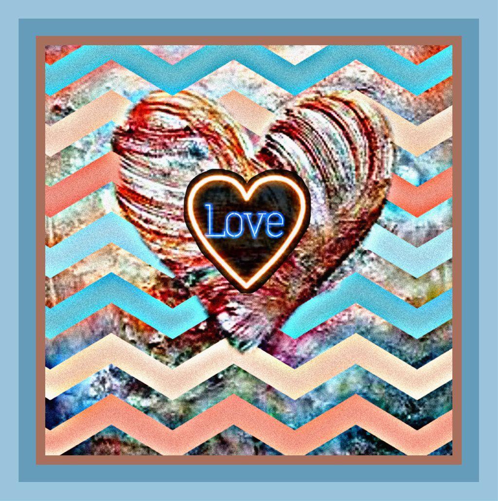 #freetoedit #love #hearts #text #zigzag