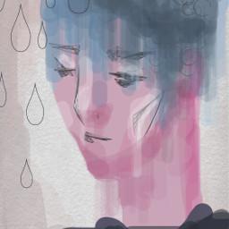 portrait painting sad boy dcportraits portraits