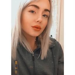 freetoedit remixit hoops blueeyes blonde