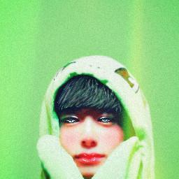 hyungwon frog monstax green hyungwonfrog