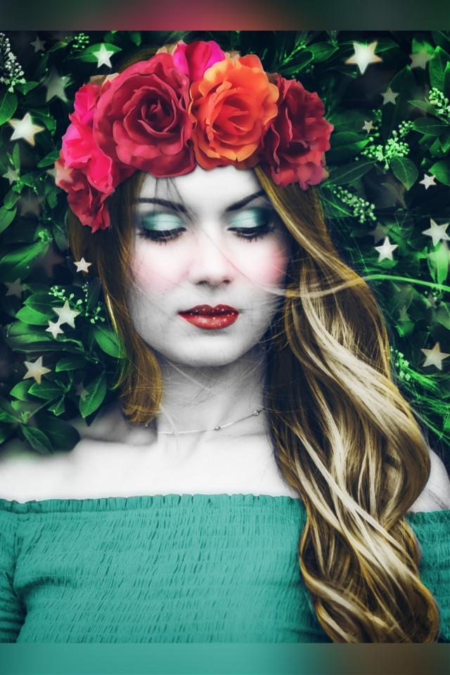 #freetoedit #artisticportrait #digitalmakeup #coloring #edited #madewithpicsart