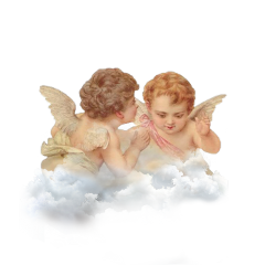 freetoedit angel baby stickers clouds