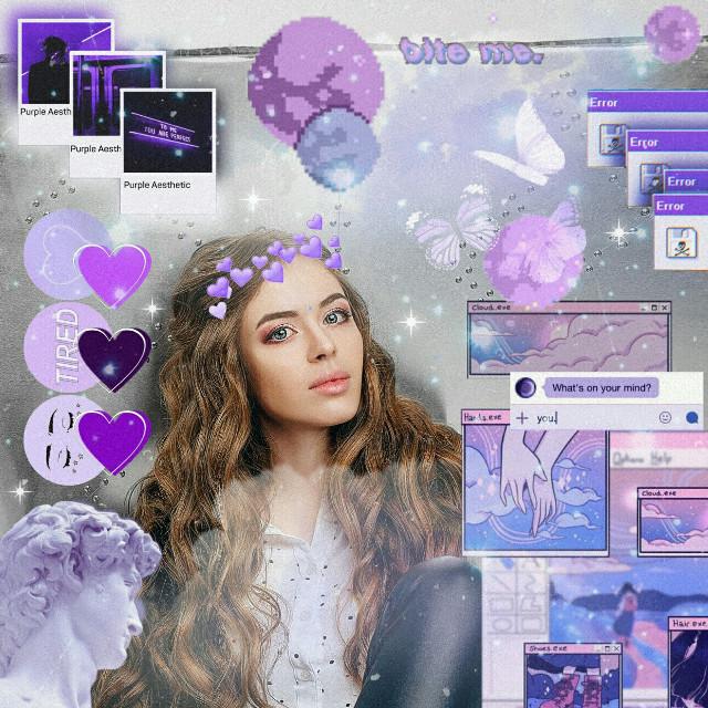#freetoedit #replay #purple #aesthetic  #brushtool
