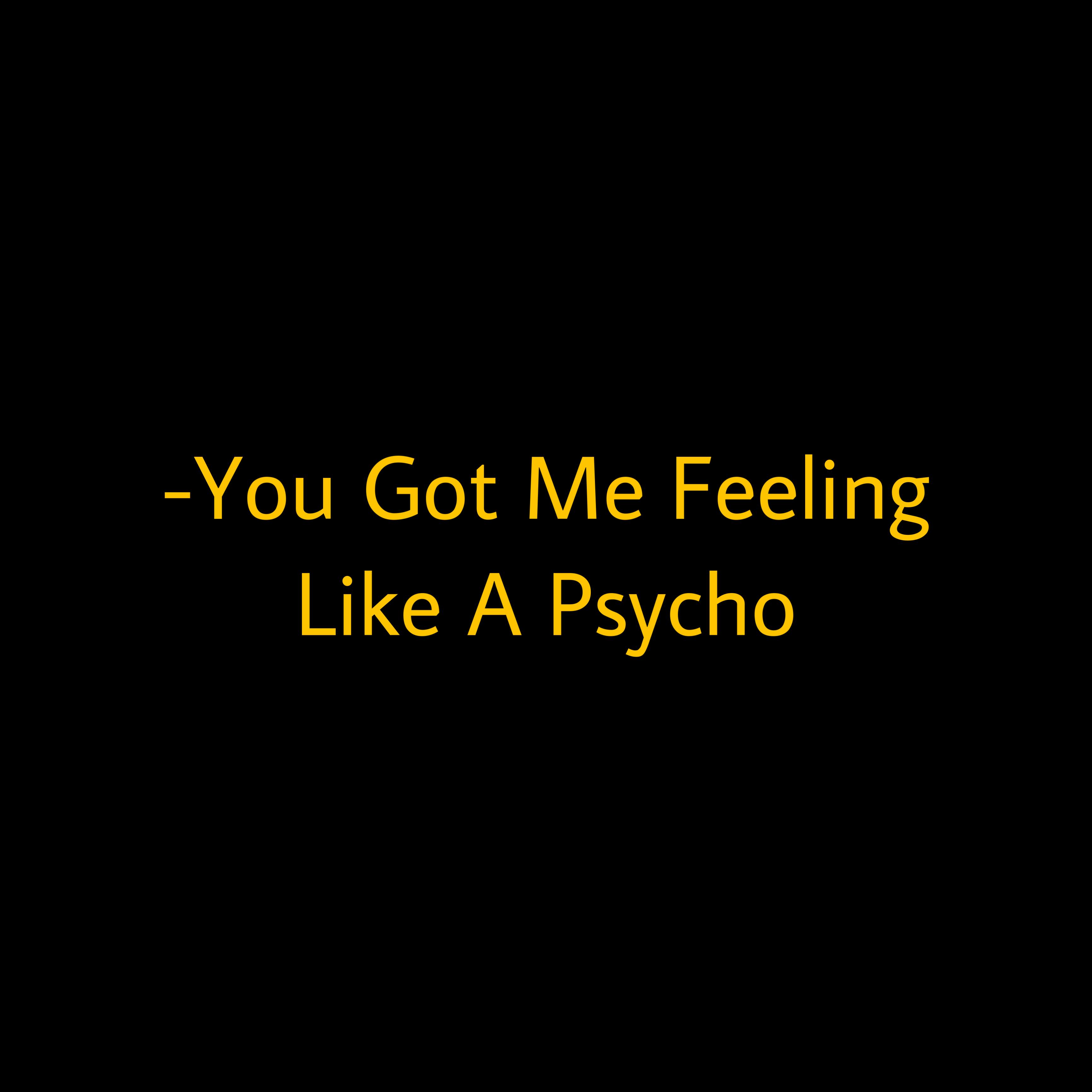 Redvelvet Aesthetic Psycho Song Sticker By Julsie