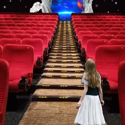 madewithpicsart imagination cinema stars gate freetoedit