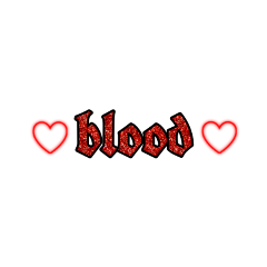 blood text cute redaesthetic red freetoedit