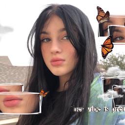 editedbyme vibez butterflys aesthetic playvhs freetoedit