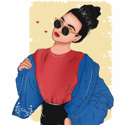 freetoedit socute madewithpicsart iloveit girlpower ircoutlineart
