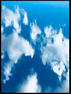 background landscape blue clouds cloud