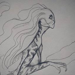 drawing mermaid art