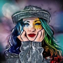 freetoedit changingcolors colourful myedit portrait