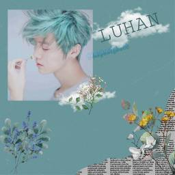 luhan green lightgreen freetoedit