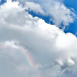 freetoedit blueskywithclouds blueskyandcloudsrainbow beautifulsky pctheblueabove