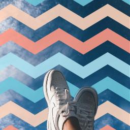 freetoedit rayas cielo sky nikeshoes srczigzagpattern zigzagpattern