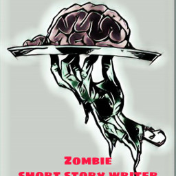 hand brains zombie plate writer