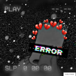 simpsons idk error sad mood freetoedit