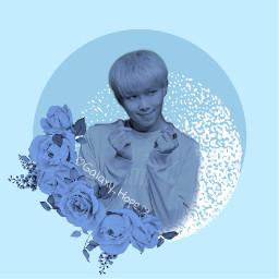 bts btsnamjoon profilepic blue