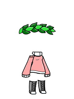 gacha clothes flower crown outfit freetoedit