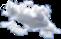 sticker clouds challege remix blue freetoedit scclouds
