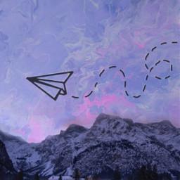 freetoedit paper airplane plane mount