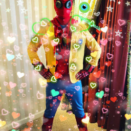 freetoedit cosplayling cosplay as spiderman
