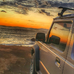 suzukijimny trip sunsetsky