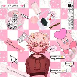 freetoedit minaashido alianqueen pink myheroacademia