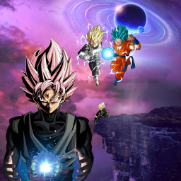 freetoedit dragonball anime space alienized ircuniverseinyourhand