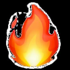 fire fireemoji emoji iphoneemoji iphone freetoedit