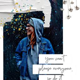 freetoedit stress smile girl hoodie