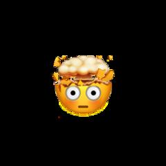newemoji art shocker explosion emoji freetoedit