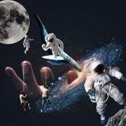 space moon freetoedit ircuniverseinyourhand universeinyourhand