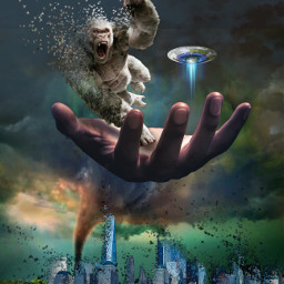 fantasy dispersiontool gorillaz city alien ircuniverseinyourhand freetoedit