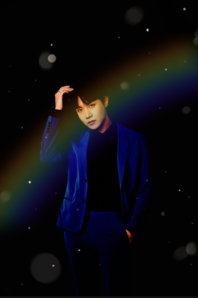 ✨J-Hope✨ -Black rainbow edit 🌈    #bts #BTSJ-Hope #J-Hope #J-HopeBTS  #JungHoseok  I purple you 💜