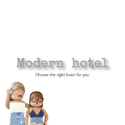 bloxburg roblox hotel modern decal freetoedit