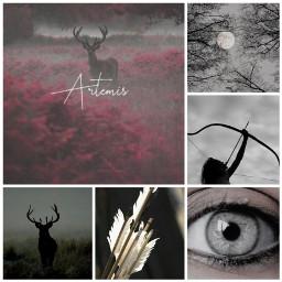 artemis deer bowandarrow arrows arrow freetoedit