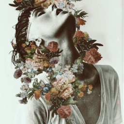 freetoedit flowers aesthetic man face