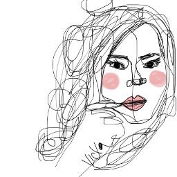 lines portrait girl dcportraits portraits