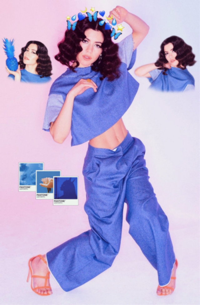 No idea what this is lmao  Tags: #marina #marinaandthediamonds #marinaandthediamondsedit #blue #aesthetic