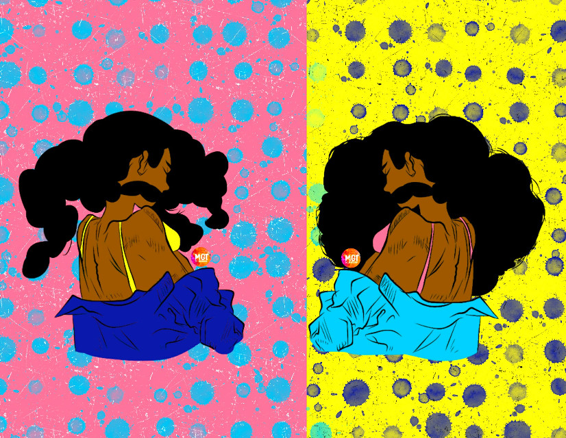Nana Left or Right #myedit #outline #sketch #afro #beauty #freetoedit #simple #jacket #mydrawing #love #edit #art #blue #cute #colour #sketch