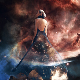 aesthetic surreal fantasy galaxy cosmos freetoedit