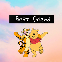 freetoedit bff bestfriend winniethepooh tigger