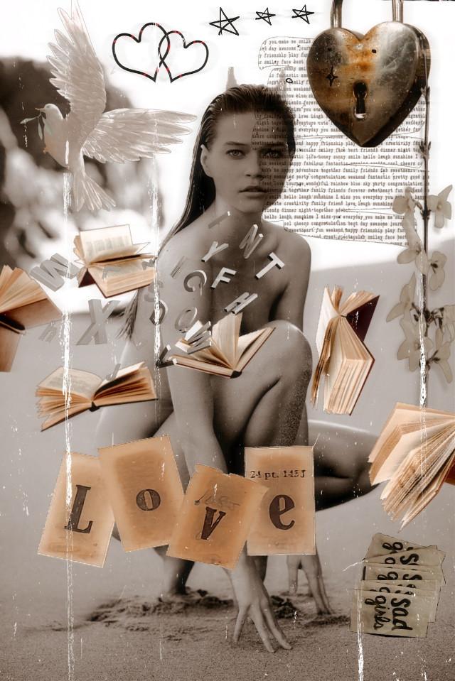 #freetoedit #love #books #read #asthetic