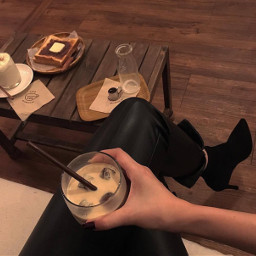 brownaesthetic aesthetic coffee