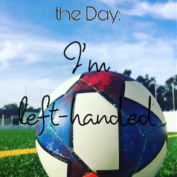 soccerball aestheticpic lefthanded randomfunfact funfact
