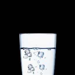 freetoedit water ice glassofwater