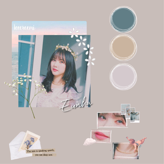 ☽ 𝔀𝓮𝓵𝓬𝓸𝓶𝓮! ;;  ———- 🌷———-  𑁍 date published:: 01.23.20 𑁍 who:: eunha from gfriend 𑁍 main color:: beige  ———- 🌷———-  🔮caption:: hey popsiccle ( <— icecreemi's fans,lmao) hope you're having a great and awesome day/night/wherever you are ❤️ enjoy this editt :) ———- 🌷 ———-  🔮credits::  - photo 👋🏼 - stickers👋🏼 -etc  ~ all things that are included in this edit belongs to the owner.thank you! ———- 🌷 ———-  🔮 tags:: #eunha #gfriendeunha #gfriend #gfriendbuddy #buddy #buddies #buddyforever #buddiesforlife #eunhakpop #beauty #girl #girlgroup #gfriendedit #beige #flower #mail #text #anatomy #color  ———- 🌷 ———-  emoji of the post:: 🌸 ( just imagine it's white,lol. baby breath flower) ———- 🌷 ———-  ☽ 𝓫𝔂𝓮!  #freetoedit