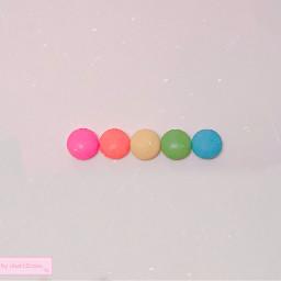 freetoedit smarties idek rainbow photography
